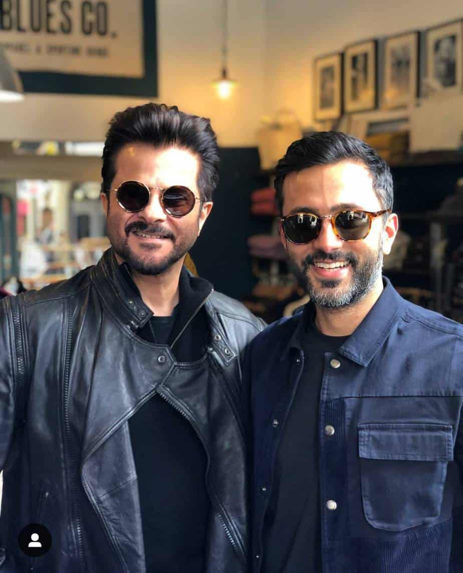 Anand Ahuja and Anil Kapoor